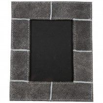 leather Used grey pictureframe rectangle