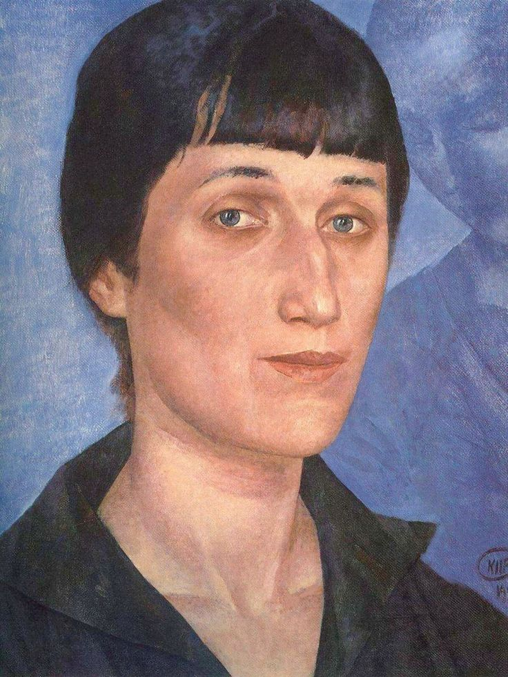 "Anya on Twitter: ""More Petrov-Vodkin; this time the poet Anna Akhmatova #ArtAttack #art @royalacademy https://t.co/Mj6dhVhLca"""