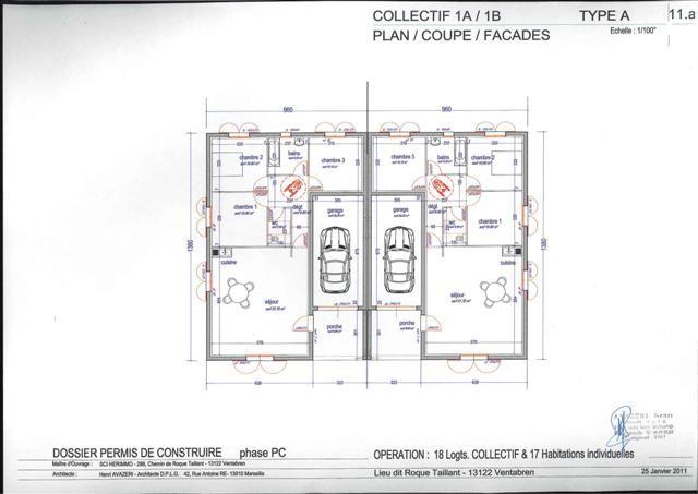 Modele Urbis Plan Maison Mitoyenne A Etage 8