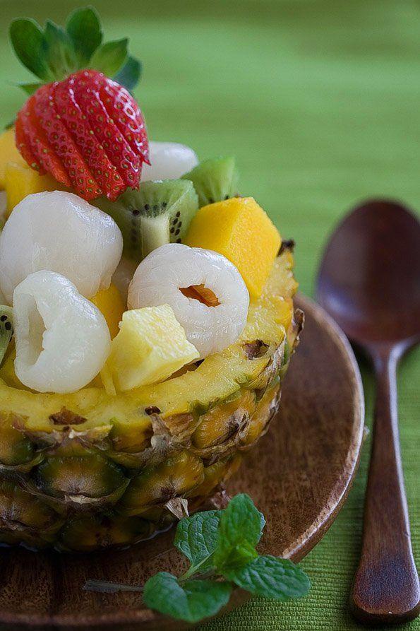 litchi fruit how to make a fruit salad