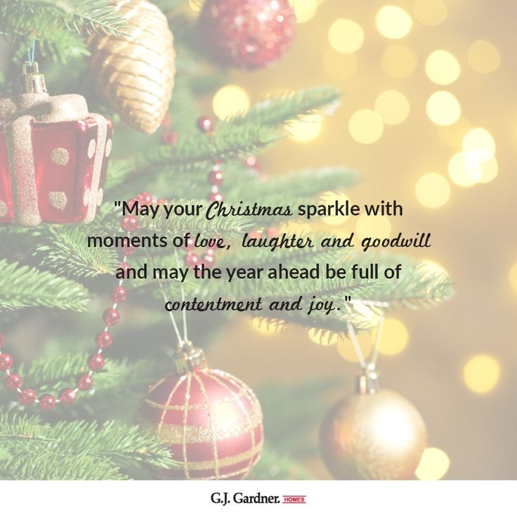 Merry Christmas from everyone at G.J. Gardner Homes! Have a wonderful day!