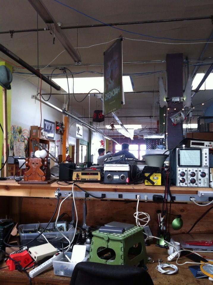 Noisebridge Hackerspace: Projeto Eufuturo, Noisebridg Hackerspac, Coworking Spaces, San Francisco
