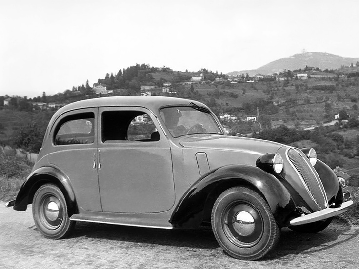 Fiat 508 C Balilla 1100 '1937–39 The precursor to the Fiat 500 D.