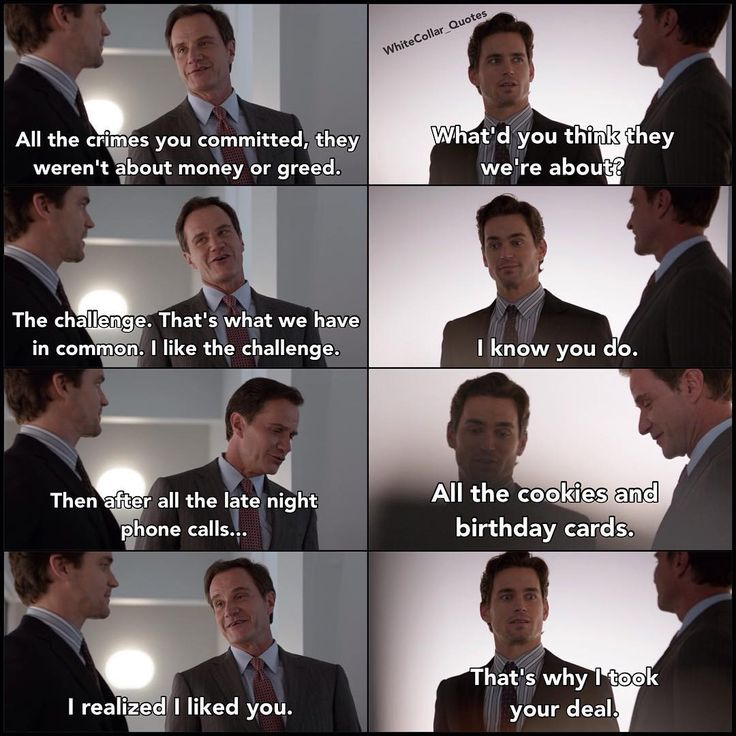 Neal and Peter. White Collar Quotes. <<< The friendship that springs up between these two is one of the best in any TV show ever