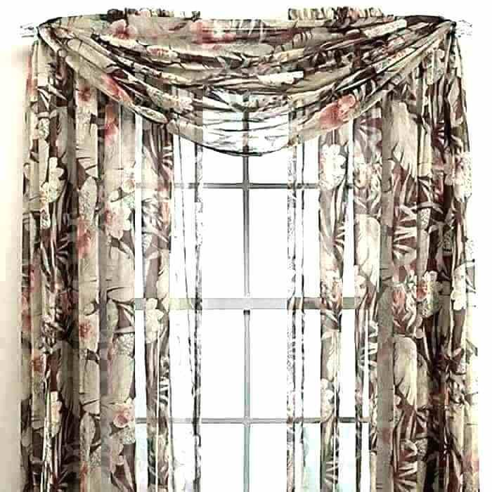 57 How To Hang Window Scarves Without A Rod Window Scarf Scarf Curtains Scarf Valance