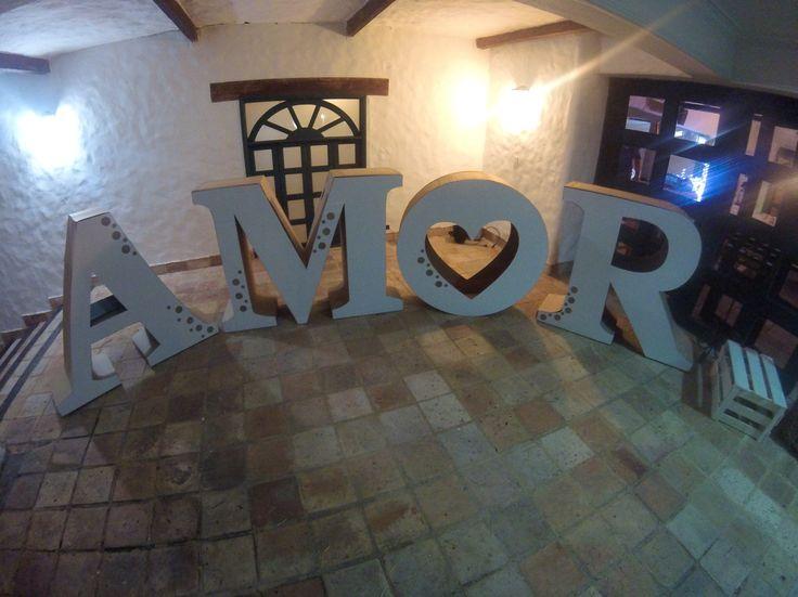 Amor letras decorativas para matrimonio por vicani - Letras decorativas pared ...