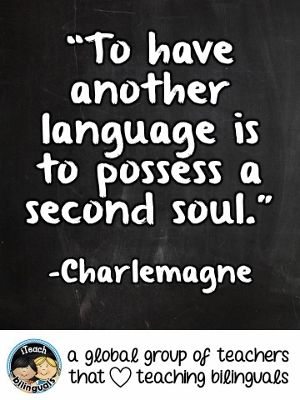 Teacher Quote: Second Language Learning #KidsLanguages # ...