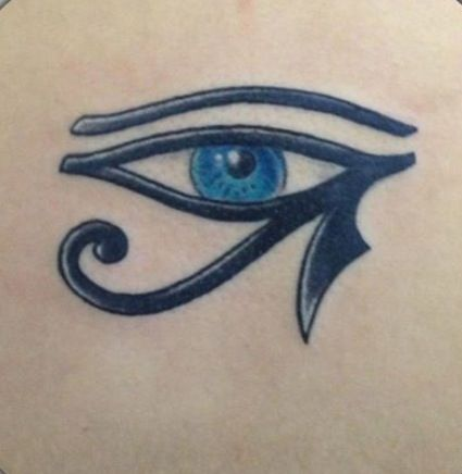 The Eye of Horus is an ancient Egyptian symbol of protection, royal power and good health