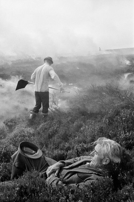 © Martin Parr/Magnum Photos GB. England. Hebden Bridge. Lord Savile's Gamekeepers. Frank Ideson. 1975.