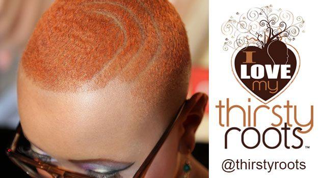 African American Woman Short Haircut