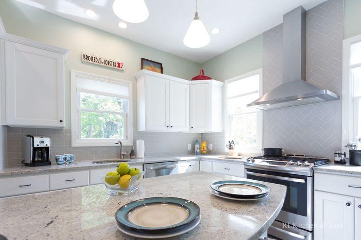 Lakeside Kitchen Designed by RI Kitchen & Bath #RIKB # ...