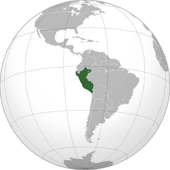 File:Peru (orthographic projection).svg
