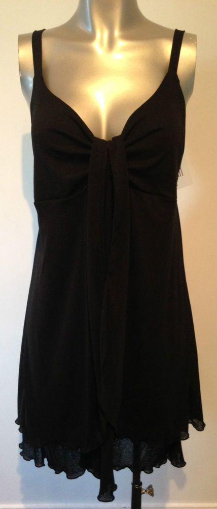 New Black Beach Dress XL Extra Large Ladies Cover Up Dress Beachwear Sexy