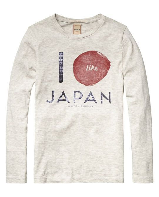 Denim Inspired T-Shirt - Scotch & Soda