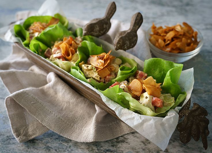 "Around here, we love BLTs. And even better, BLTAs, ""bacon"", lettuce, tomato, and avocado. I often make my vegan bacon from tempeh but for this recipe, I used coconut bacon, addicting as it is. I love that the lettuce cups replace the bread, too. This recipe requires a couple of things to be made in... READ MORE"