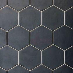Equipe - Hexatile Negro Mate 17,5x20
