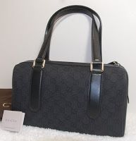 Gucci small boston denim black  Rp.3.900.000 11.5Lx7.5Hx4.5D (MSNA)