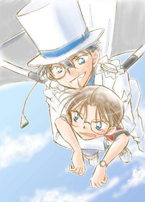 Detective Conan kaito kid Conan Edogawa