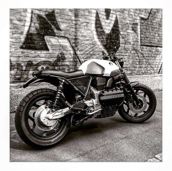 #bmw #k100 #bmwk100 #caferacer #scrambler #motorrad #customized #special #love #moto