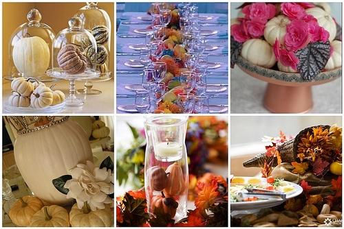 Fall Wedding Decorations - Pumpkins + Gourds