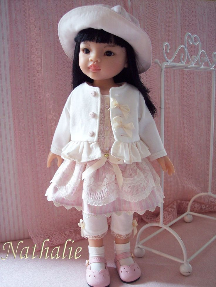 Ensemble cinq pièces compatible poupée Paola Reina, Little Darling ou similaires