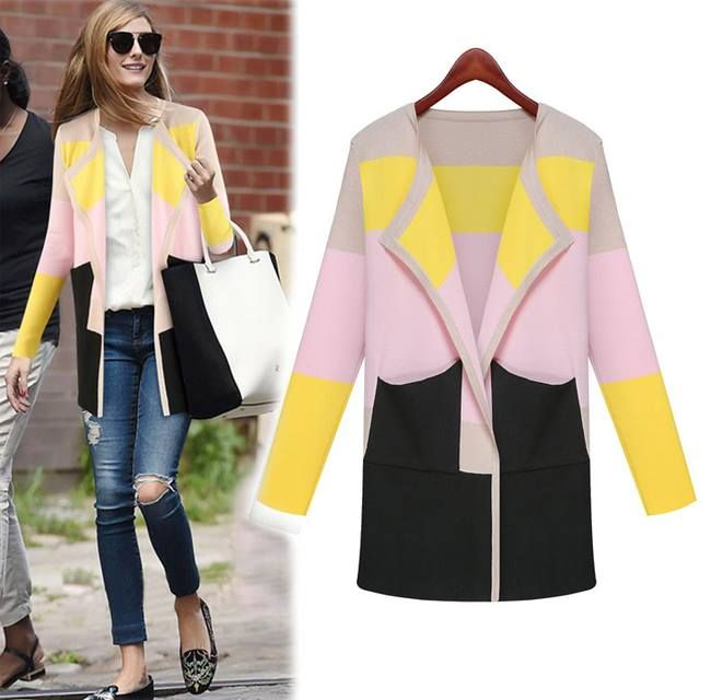 Steal Her Style: Olivia Palermo Dress up your daywear with this sophisticated soft lightweight cardigan!