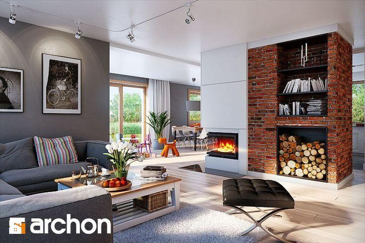 Dom w kannach - zdjęcie od ARCHONhome - Salon - Styl Nowoczesny - ARCHONhome