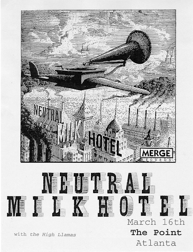 neutral milk hotel music gig posters | Fuck yeah, tour posters!