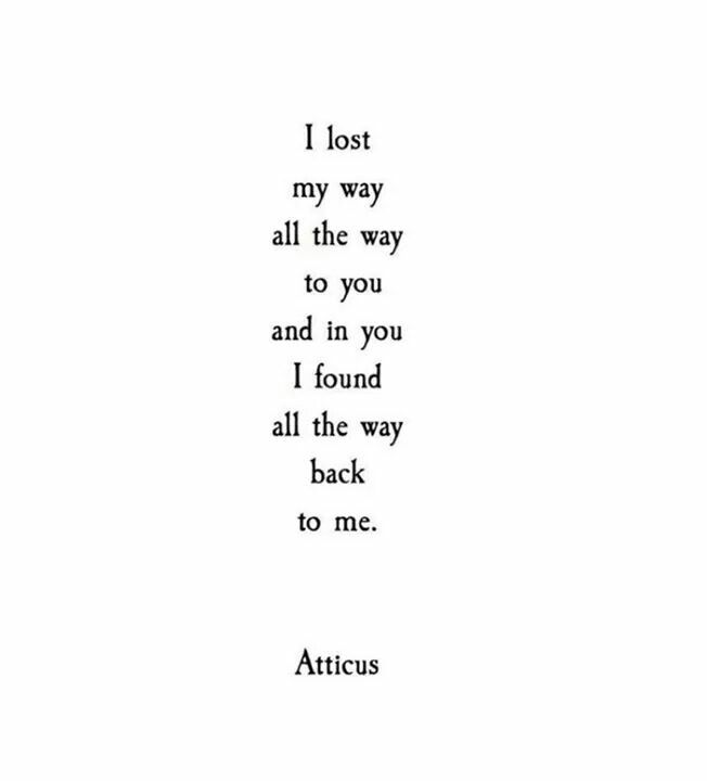 Want You Back Quotes Tumblr: I Lost My Way All The Way To You And In You I Found All