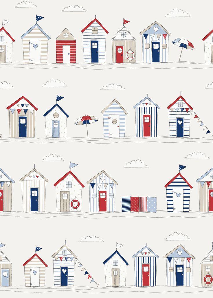 Fryett's Fabrics: Beach huts