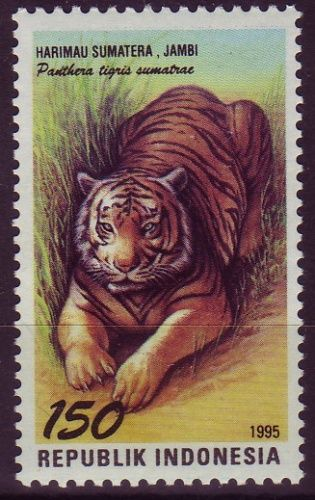 Stamp from Indonesia