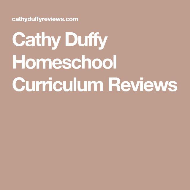 Cathy Duffy Homeschool Curriculum Reviews