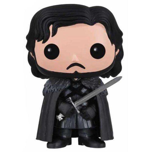 """Jon Snow est l'un des personnages principaux de la saga """"A Song Of Ice And Fire"""". Dans la série télé devenue """"Game of Thrones"""" (d'après le nom du premier tome des romans), il est..."""