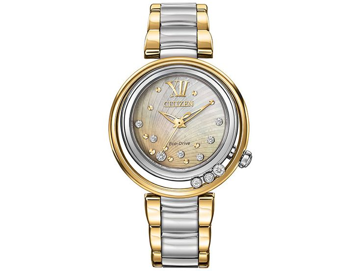 Eco-Drive Ladies Sunrise Diamond Watch