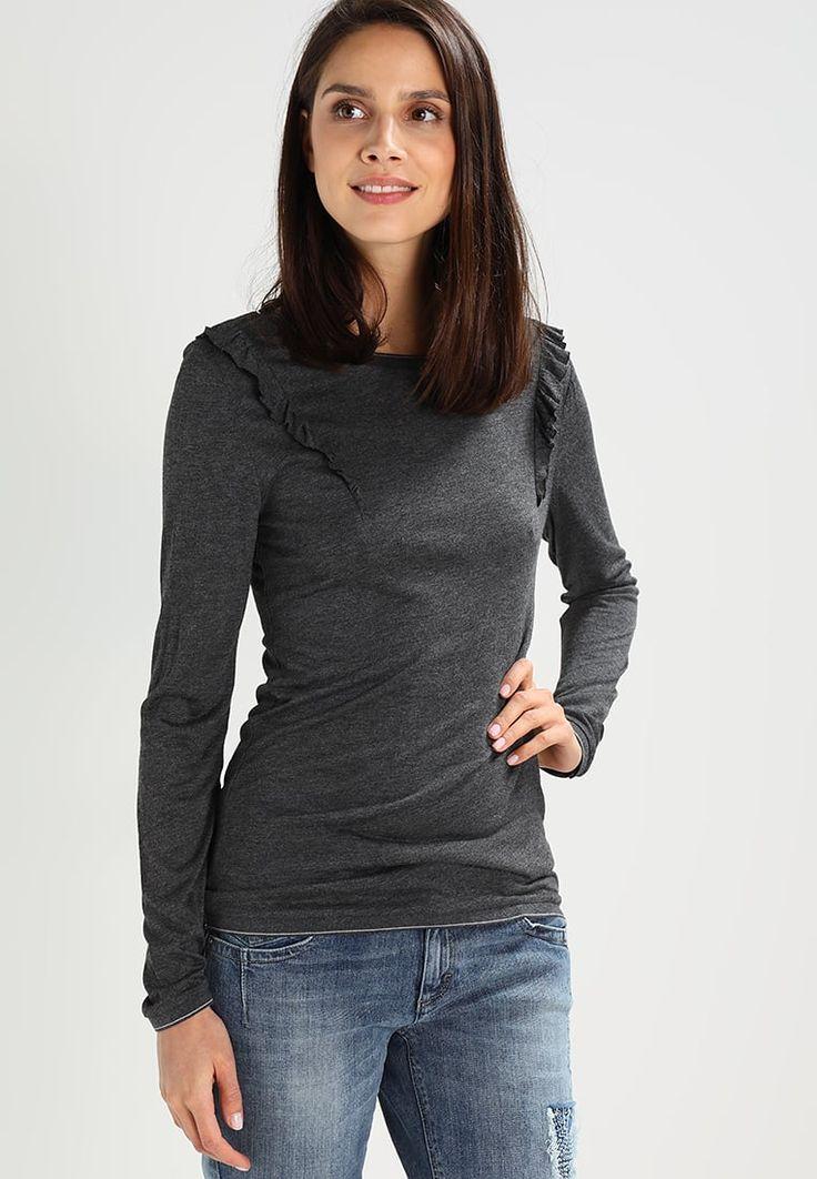 Soyaconcept THILDE - Camiseta manga larga - dark grey melange - Zalando.es
