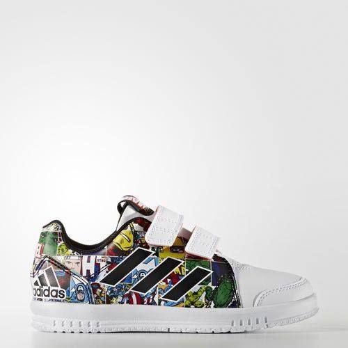 Ποιός δεν λατρεύει τους ήρωες της #MARVEL; Για να ζηλεύουν τα αθλητικά παπούτσια τους μικροί και μεγάλοι, #ADIDAS