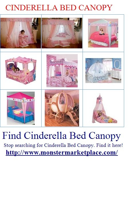 Cinderella bed canopies