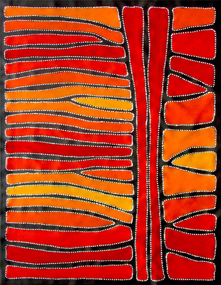 Australian aboroginal art by Sally Clark