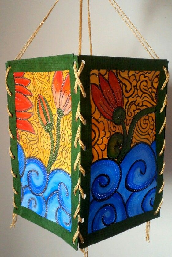 41 best hand painted indian lampshades images on pinterest lamp find this pin and more on hand painted indian lampshades by artbugs aloadofball Images