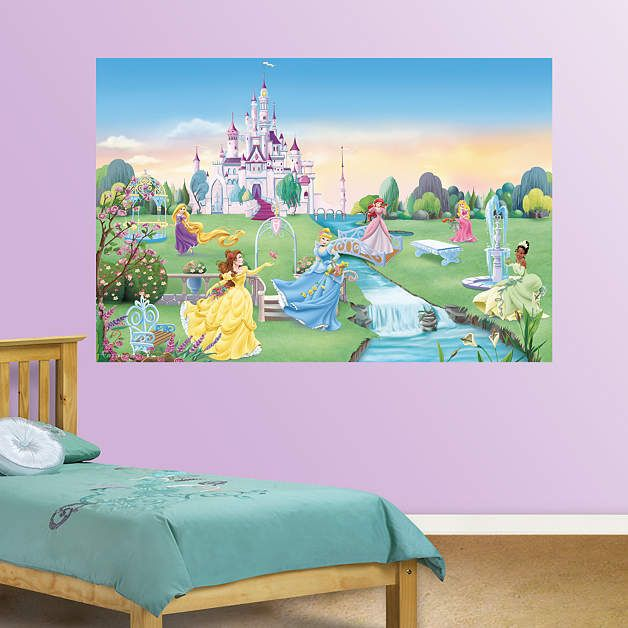 Disney Princess Mural Part 67