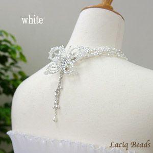 Papillon из одного плеча платье и ожерелье год бабочки ручной работы комплект невесты свадьба Pearl