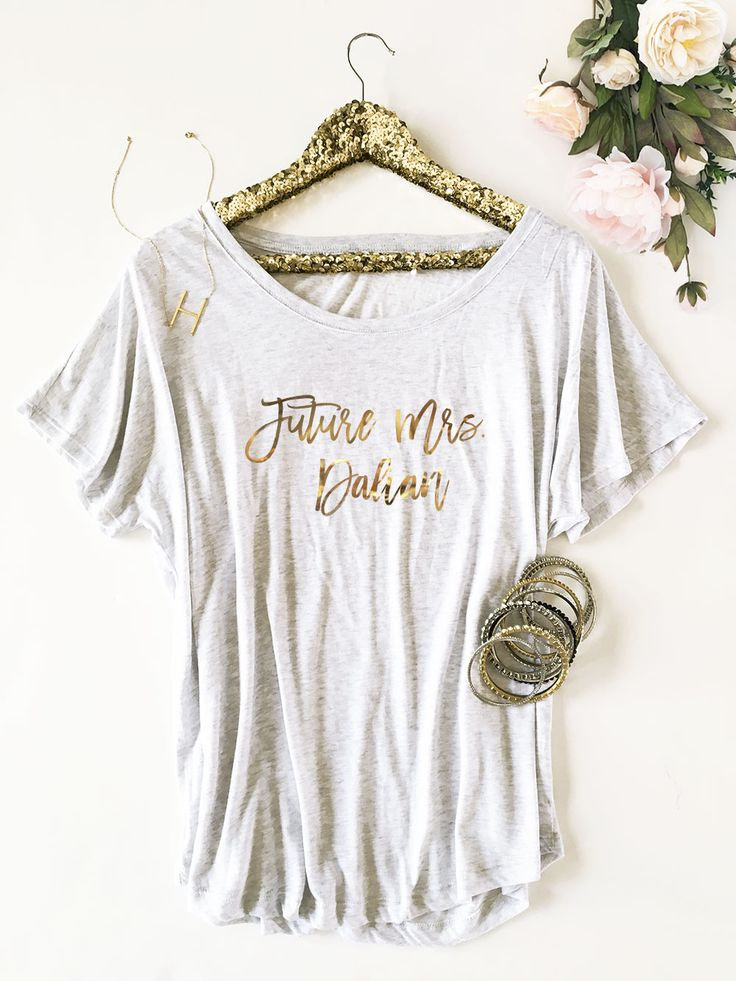 Future Mrs Shirt | Bride Shirt | Bride Gift for Bride To Be Shirt | Personalized Bride Shirt | Engagement Gift for Bride