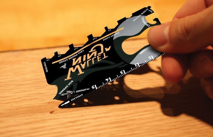 Wallet Ninja 18-1 Tool gereedschap op zakformaat - Gadgets bij Mijn Producten