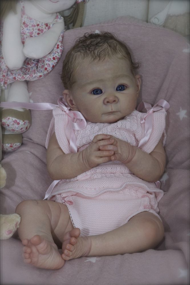Cheza Baby Nursery Reborn Baby girl Lizzy Adrie Stoete
