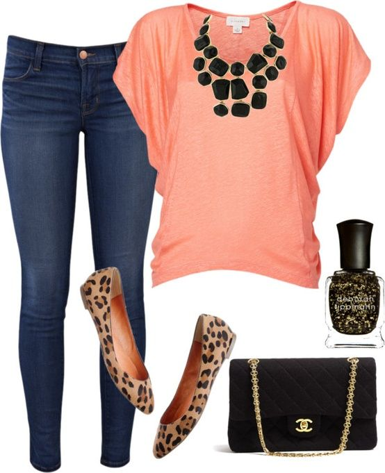 No super-skinny jeans, but love the dolman top and shoe/jewelry match