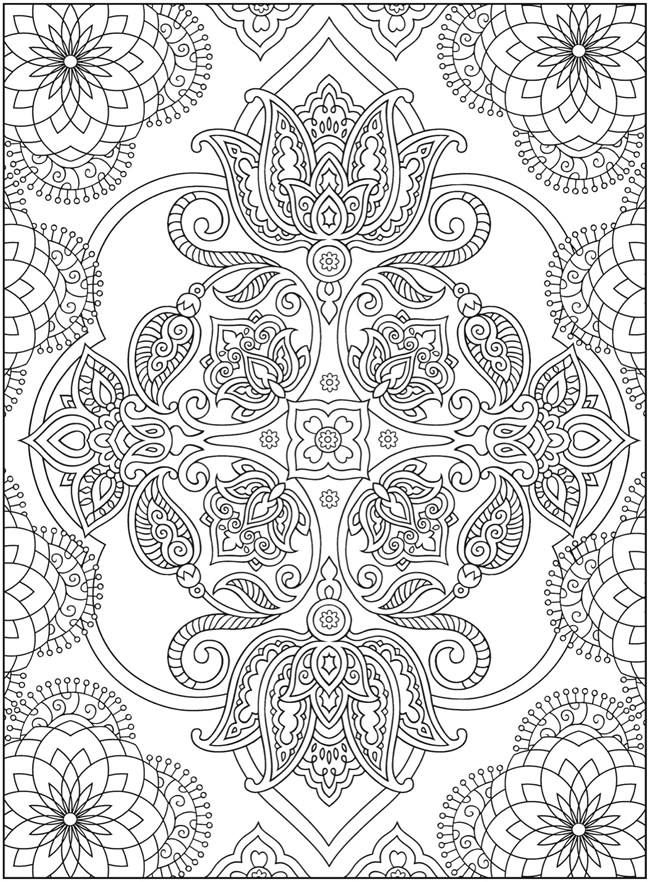 261 best Adult Coloring Pages images on Pinterest   Coloring books ...