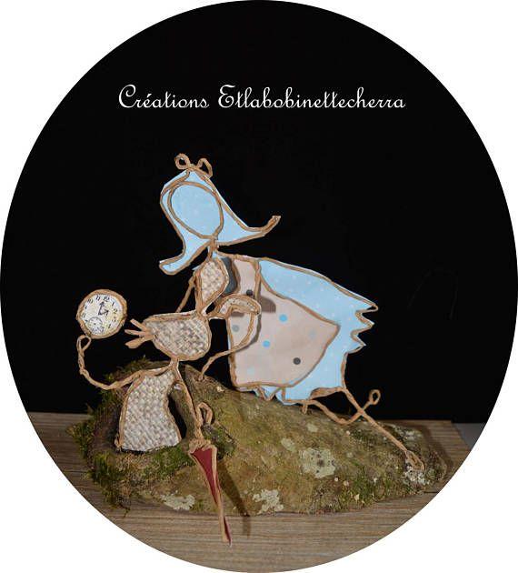 décoration chambre Alice au pays des merveilles figurine en