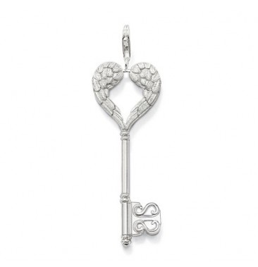 77 best fields thomas sabo images on pinterest jewels thomas thomas sabo sterling silver classic key pendant mozeypictures Choice Image