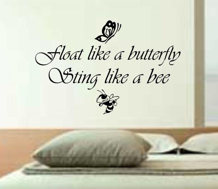 Float like a butterfly, sting like a bee <3 tattoo?