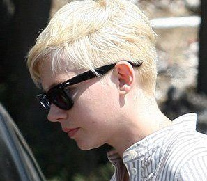 Celebrity Hair Talk : Michelle Williams BUZZED NAPE